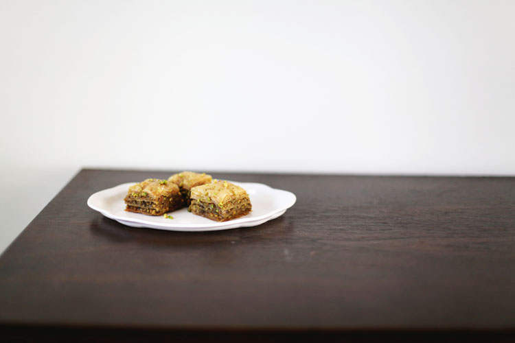 Pistachio and Cardamom Baklava