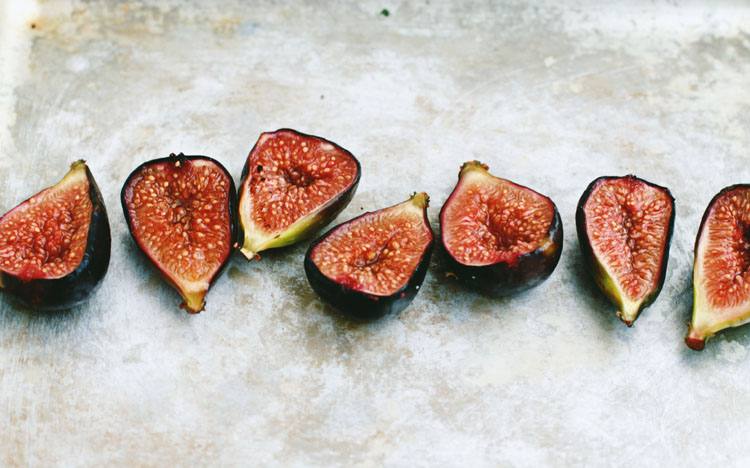 Poached + Blistered Figs