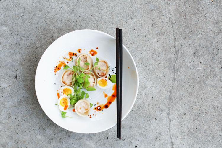 Kimchi Tofu Mandu | Tara O'Brady