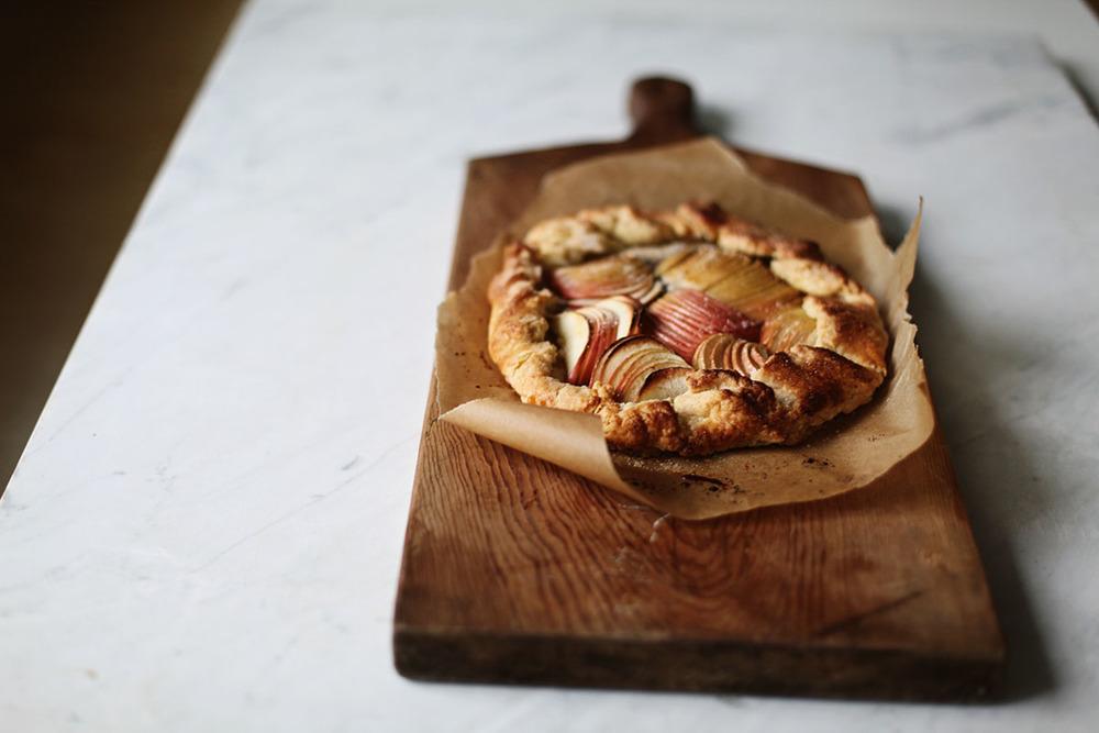 Aran's gluten-free apple tart