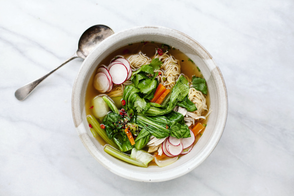 Nigella Lawson's Chinese-inspired Chicken Soup | Tara O'Brady + Seven Spoons