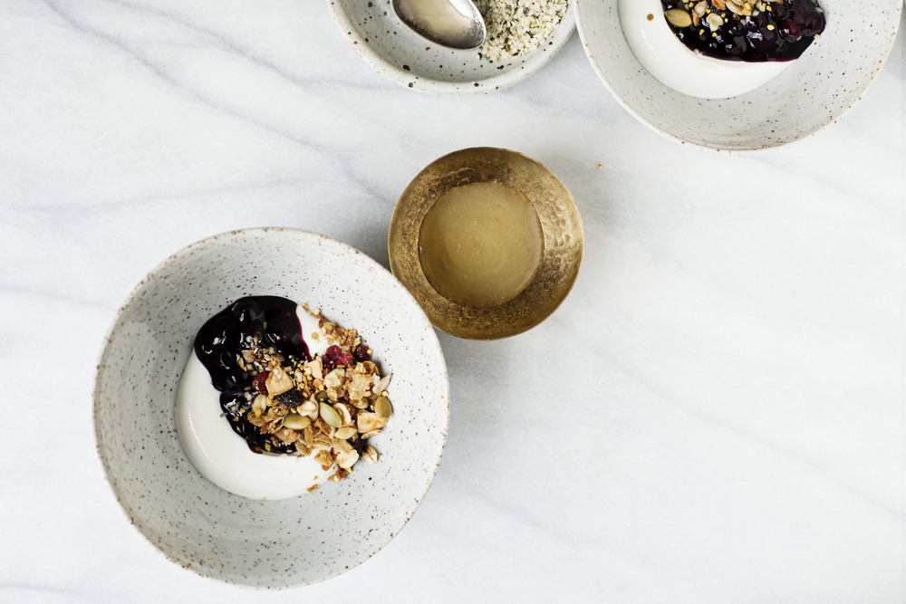 "Emma Galloway's Tahini and Orange Granola from her book ""My Darling Lemon Thyme"" 
