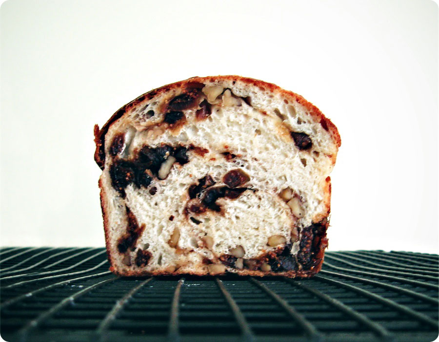 Fig and Walnut Bread | Tara O'Brady