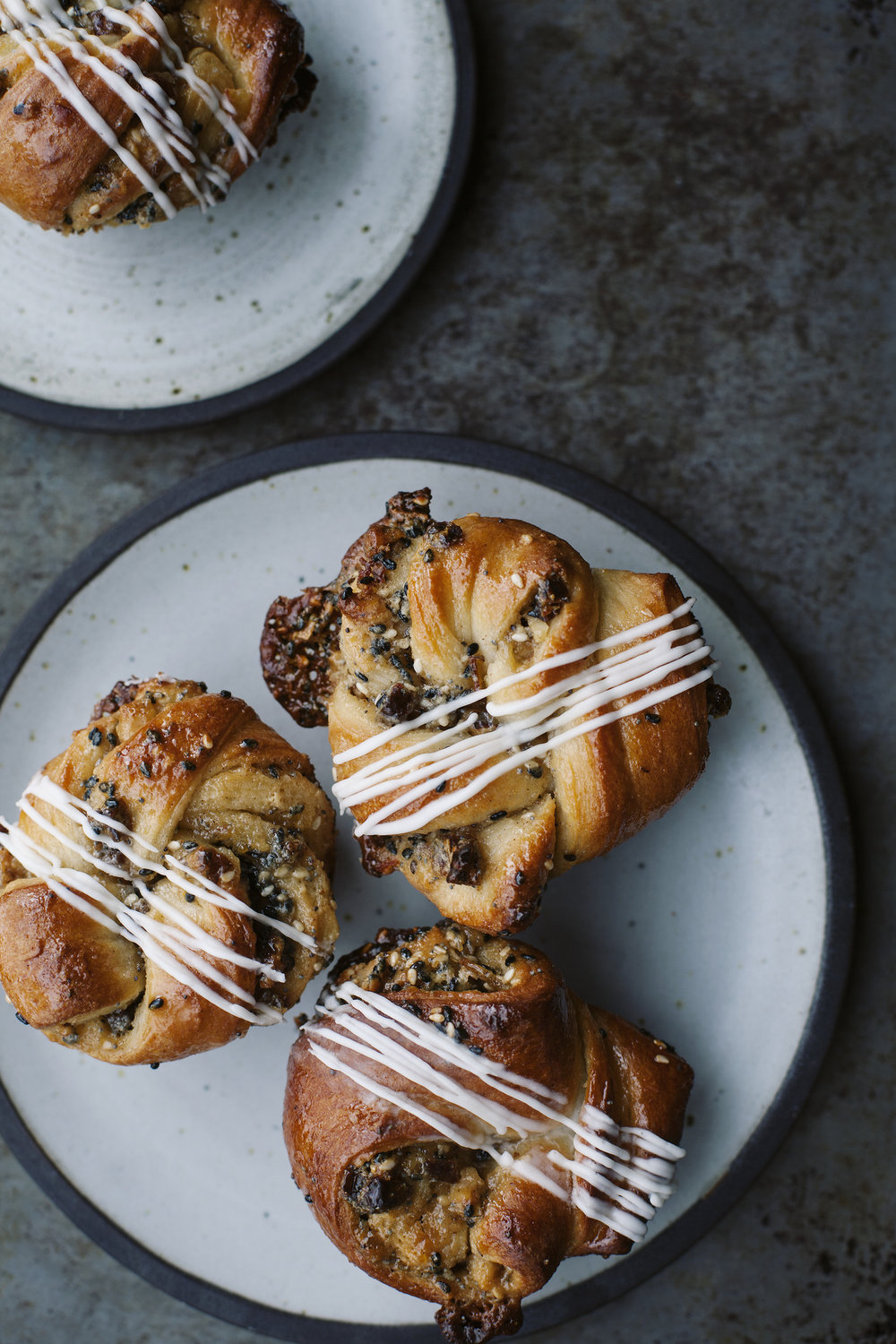 Seeded Date  Marmalade Tahini Knots