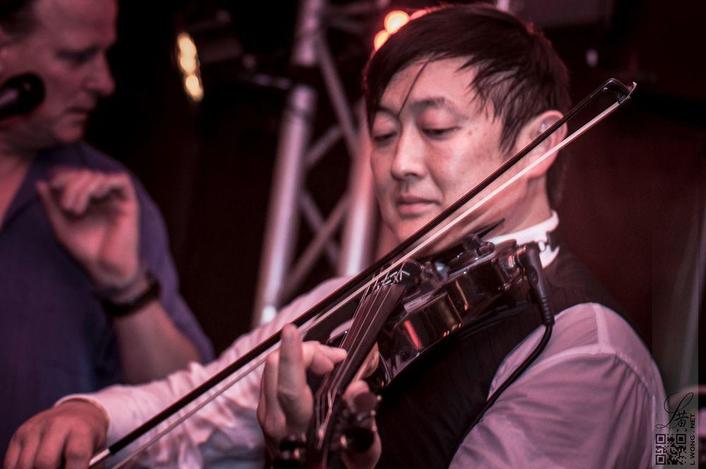 Violinist David Kim.