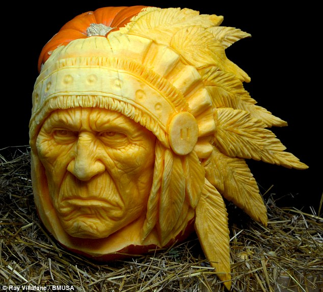 Native American: This less spooky sculpture is called Gourdonomo .jpeg