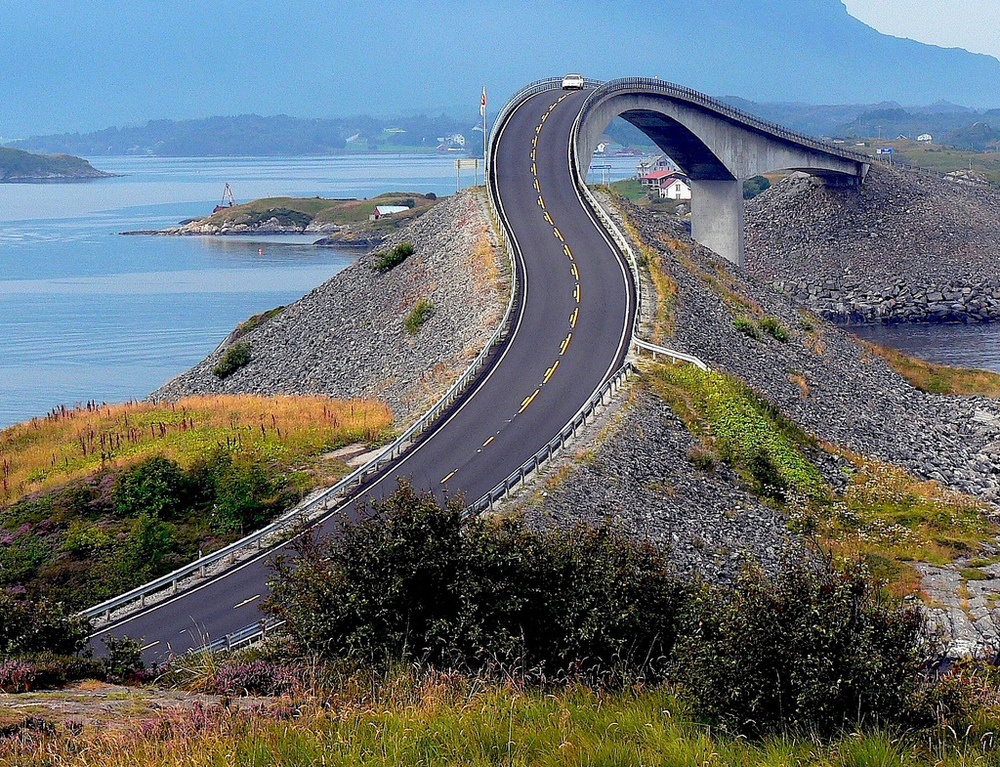 3. The Atlantic Road, Norway