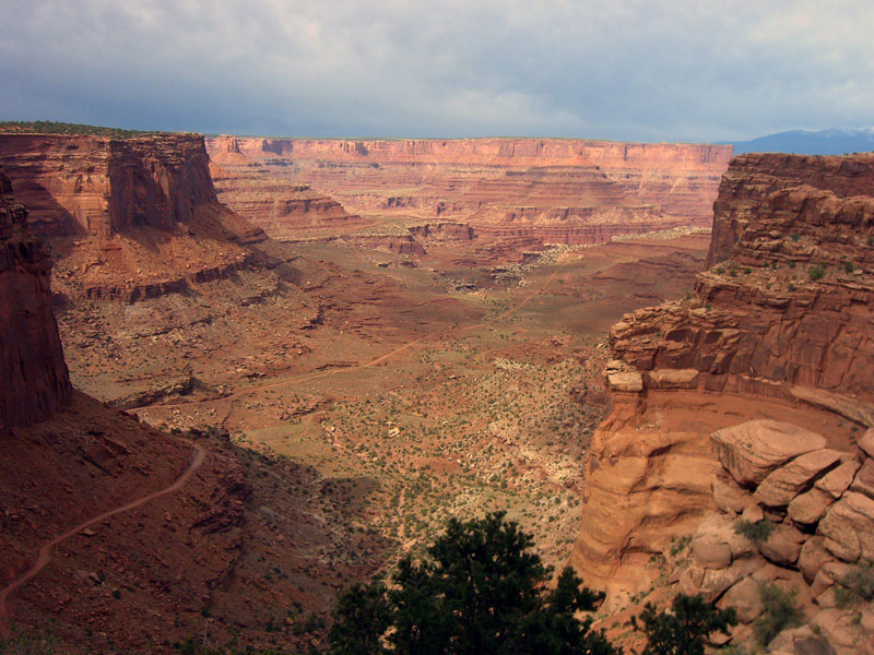 4. White Rim Road, Canyonlands National Park, Utah