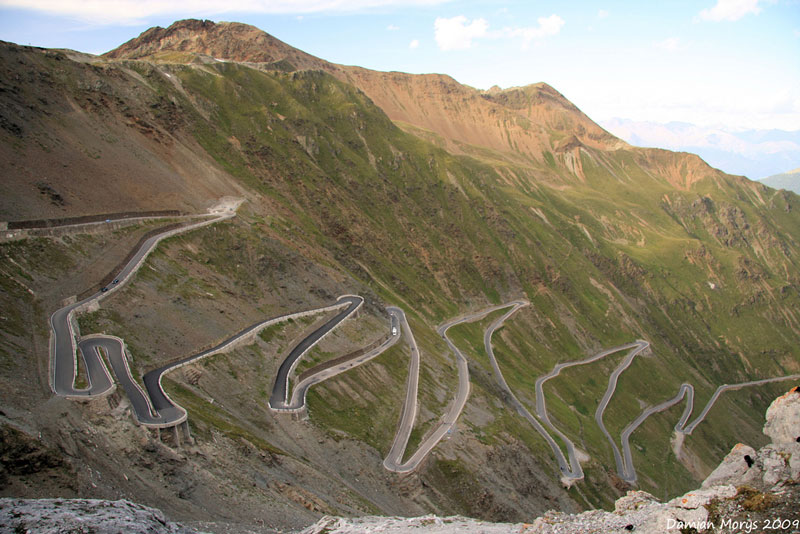 8. Stelvio Pass, Eastern Alps, Italy