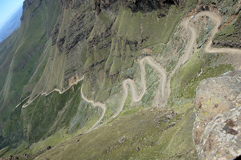 12. Sani Pass, KwaZulu-Natal, South Africa