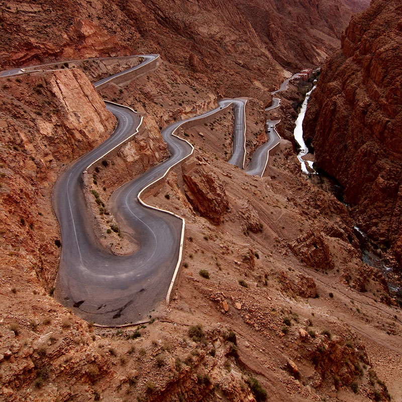 15. Dadès Gorges, High Atlas, Morocco