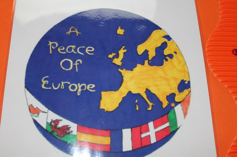 Over all winning logo for 'A Peace of Europe'
