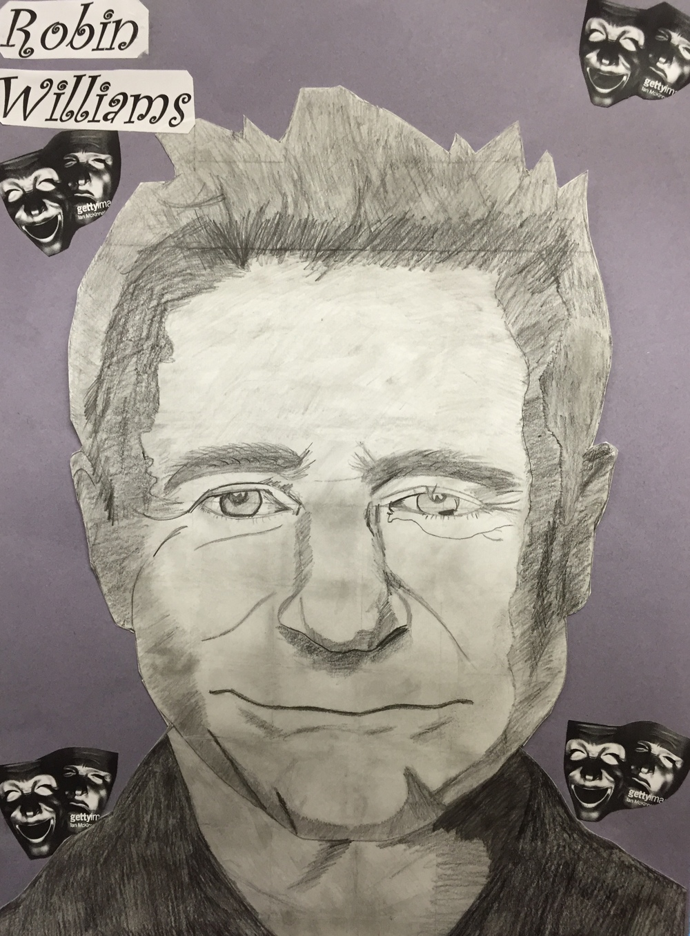 Robin Williams by  Adrianne Cummins