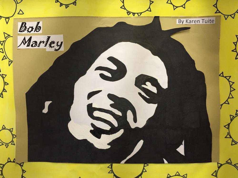 Bob Marley by Karen Tuite