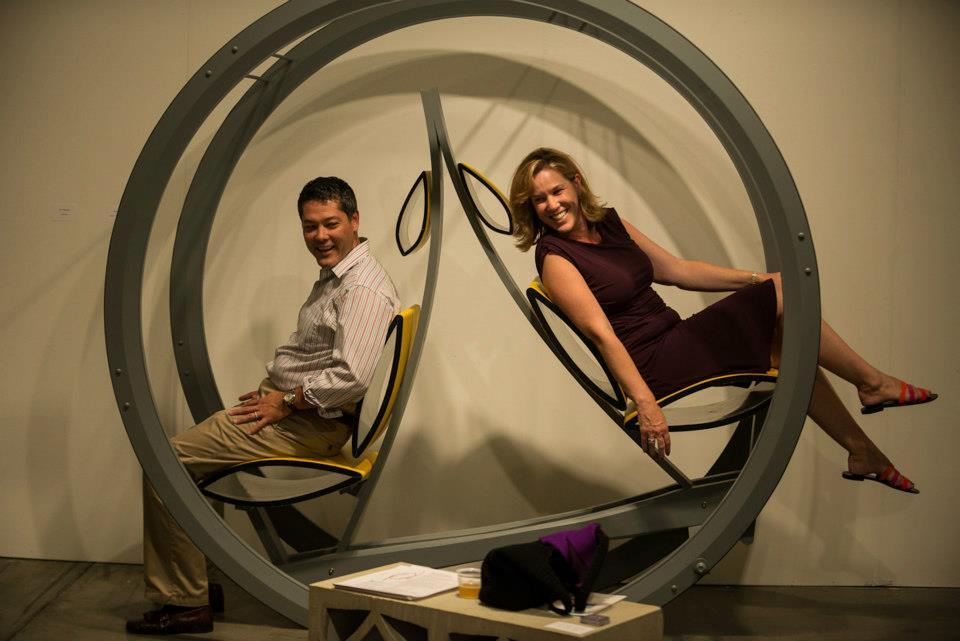 Major Toms Teeter-Totter (San Diego Art Fair 2012)