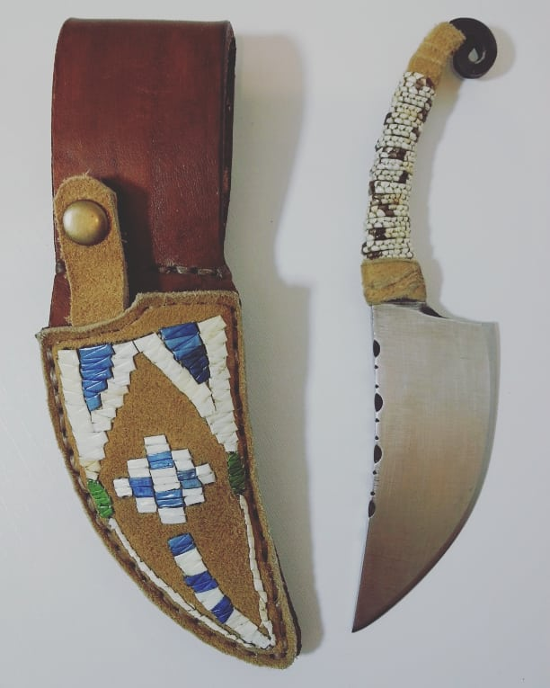 Quilled Sheath & Handle