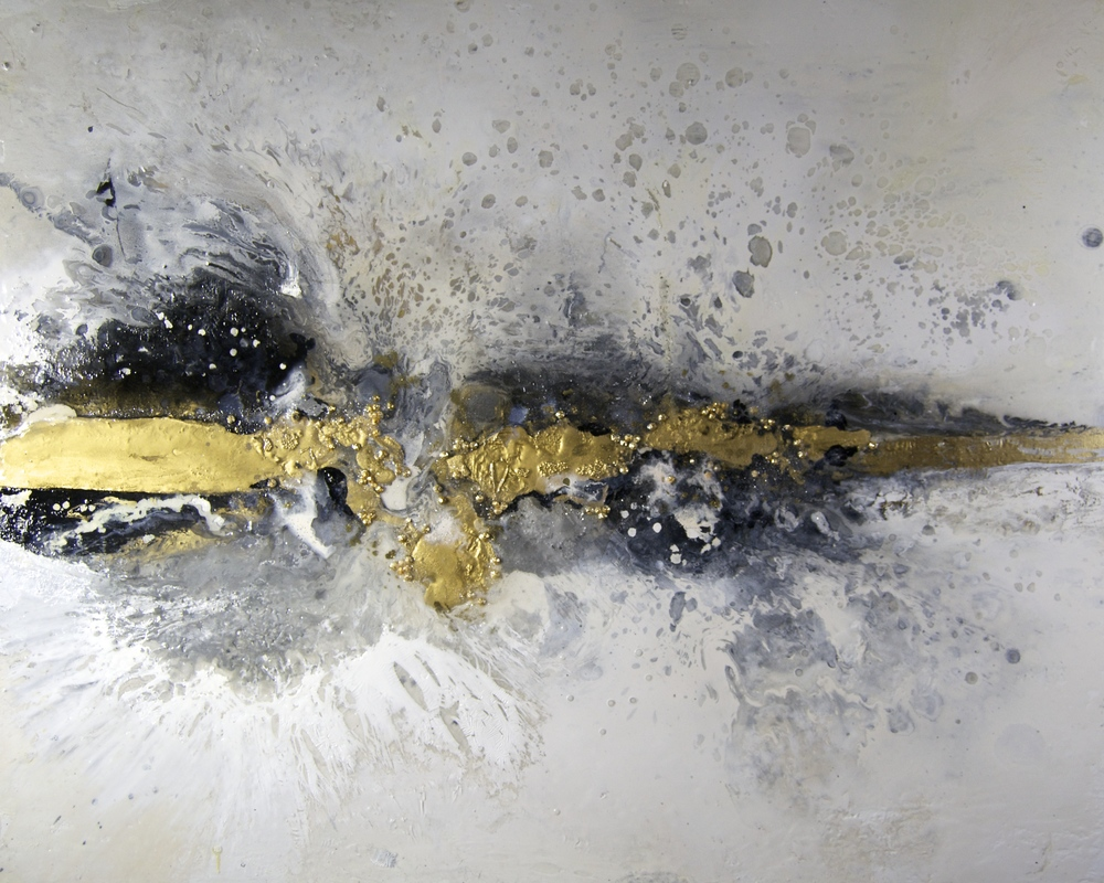24KT Gold and Glamour - Sarah Raskey Fine Art