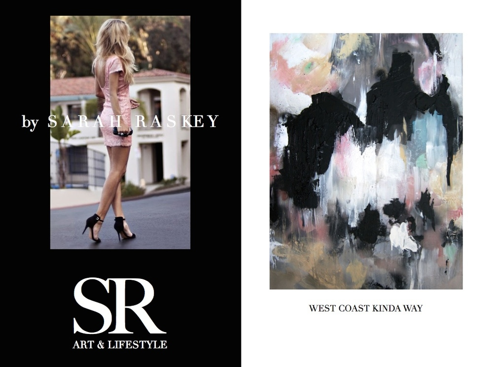 West Coast Kinda Way - Sarah Raskey Fine Art