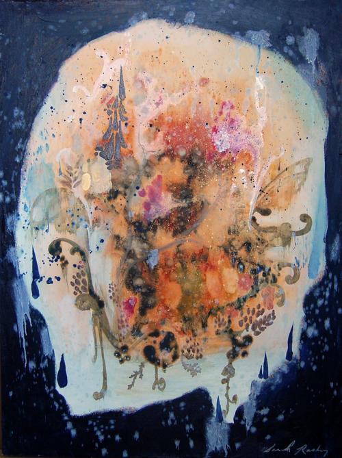 Dark in Light Places - Sarah Raskey Fine Art