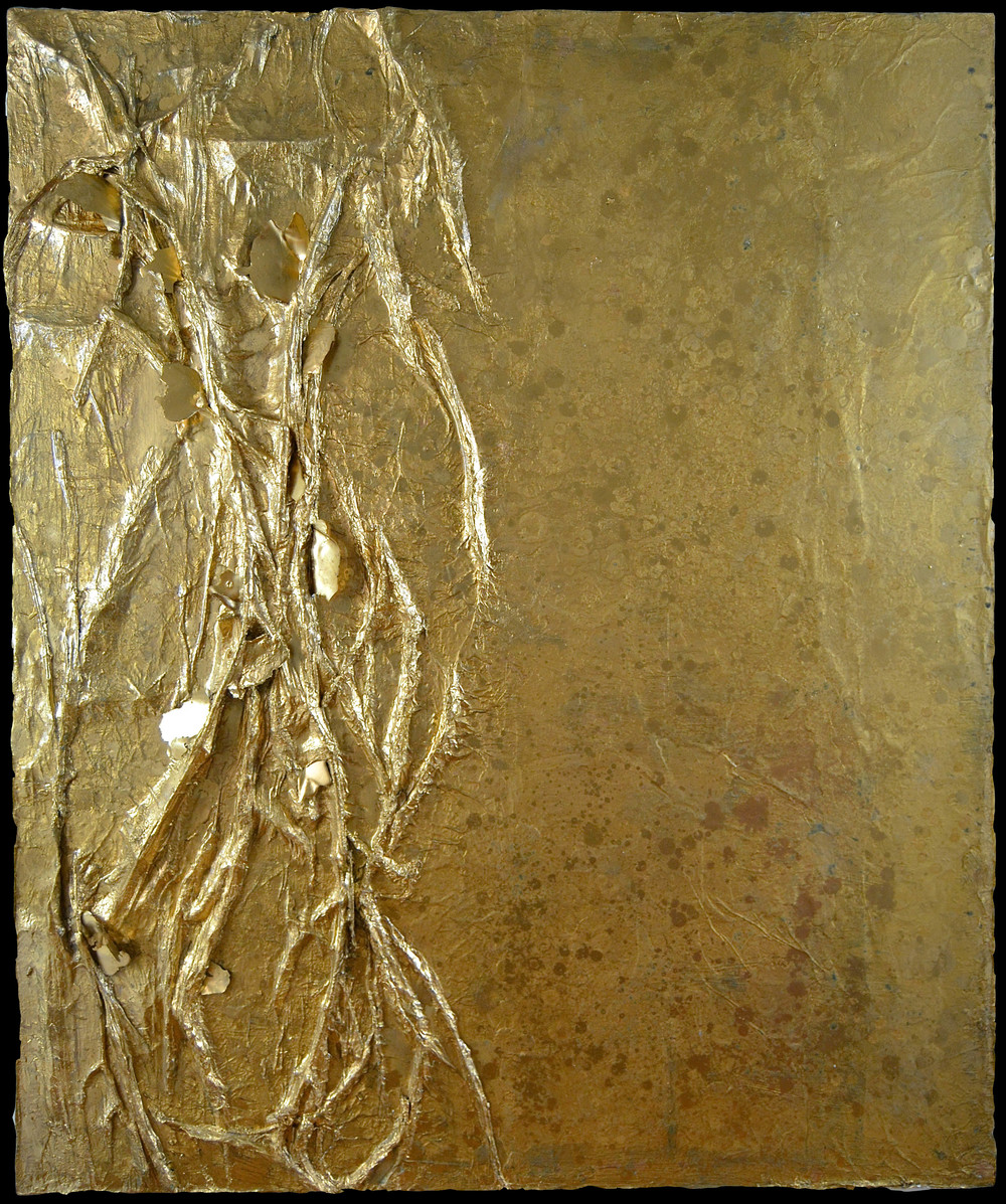 VEINS OF GOLD EMBEDDED - SARAH RASKEY FINE ART