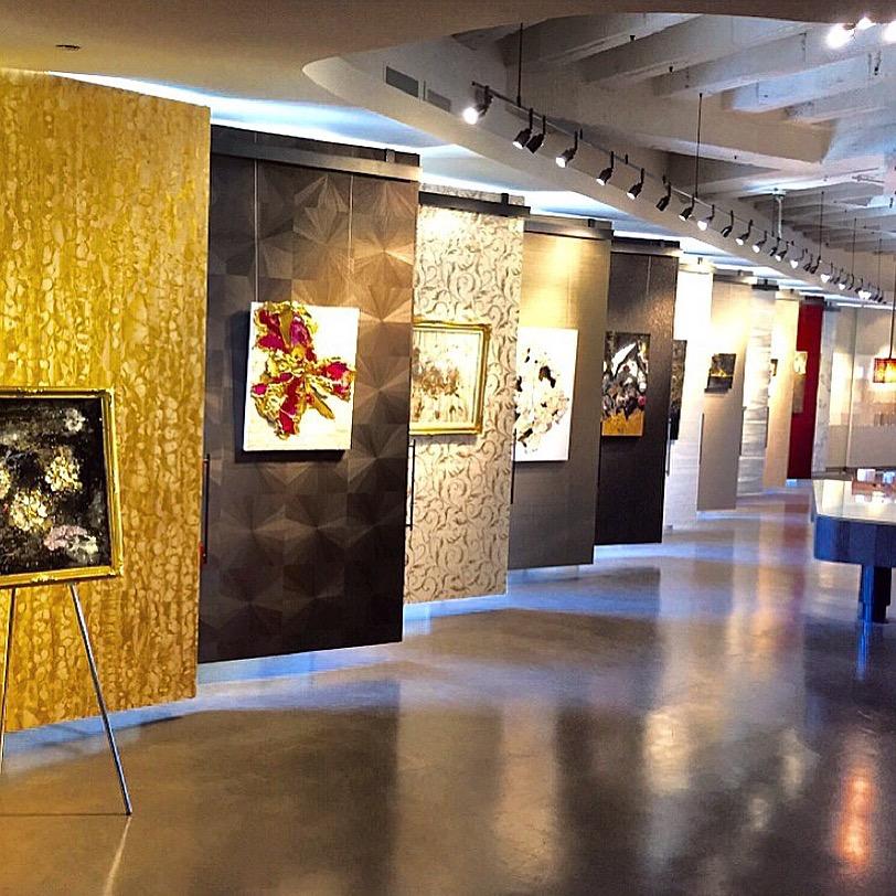 The Maya Romanoff Collection by Sarah Raskey at the Maya Romanoff Showroom inthe Merchandise Mart