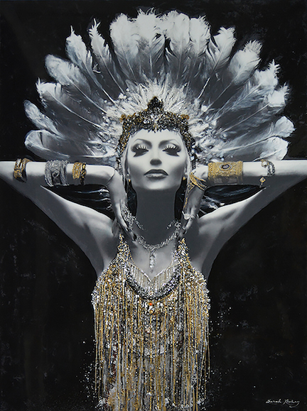 Lady Lucent of Awakening - Sarah Raskey Fine Art