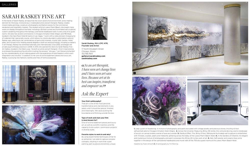 Sarah Raskey Luxe Design Profile Nov 2018