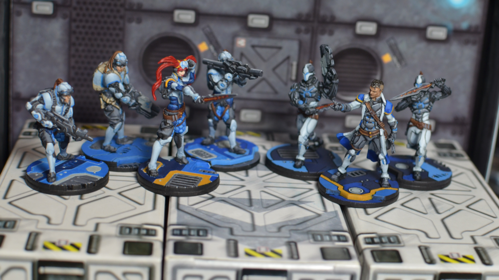 infinity list. the first infinity list, 150 points of steel phalanx. list