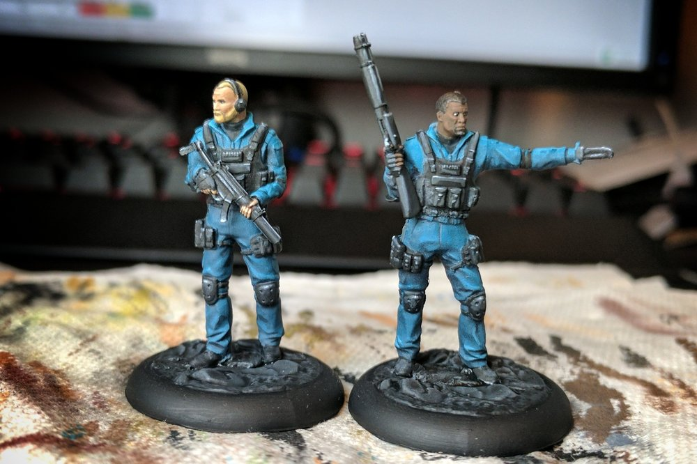 Completing the Quick Response Force. Really pleased with how they turned out in a short amount of time.