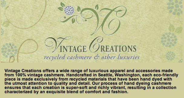 Vintage Creations: Recycled Cashmere