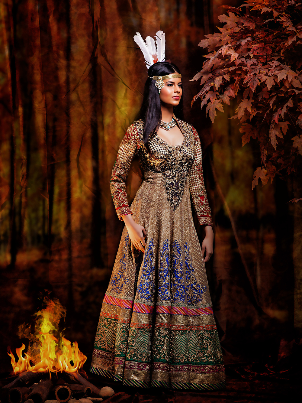 Pocahontas - Indian Disney Princess