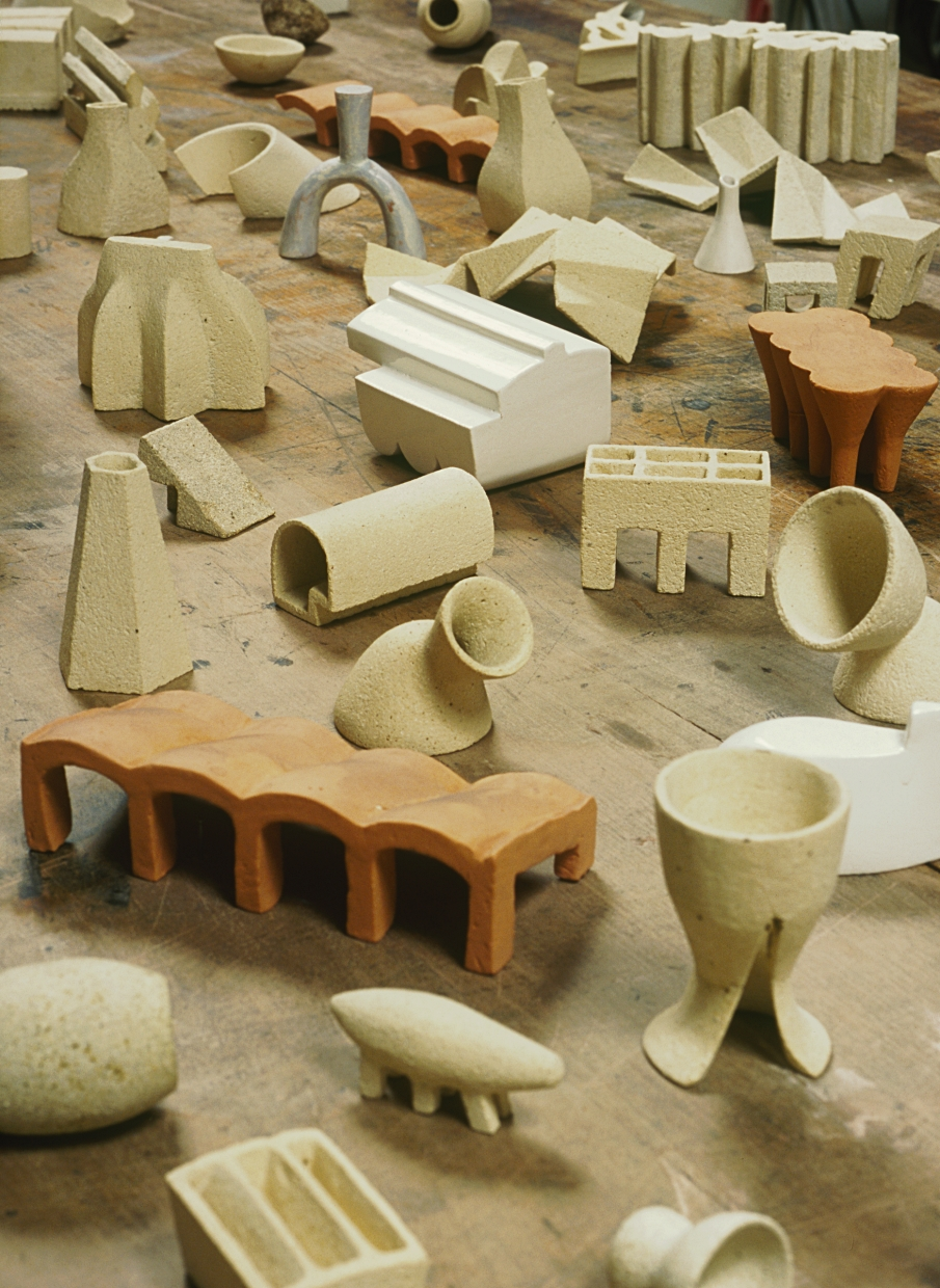 Lexicon (detail), 2002-2004, Ceramic, Dimensions Variable