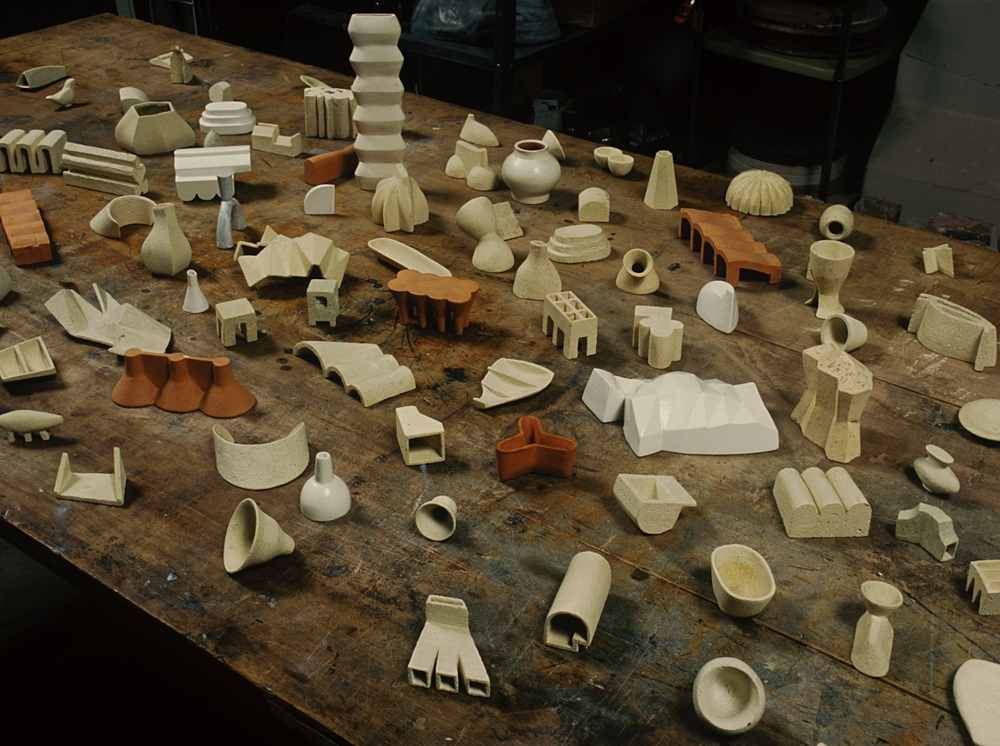 Lexicon, 2002-2004, Ceramic, Dimensions Variable