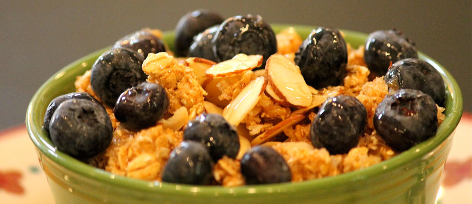 Blueberry Oatmeal Crunch
