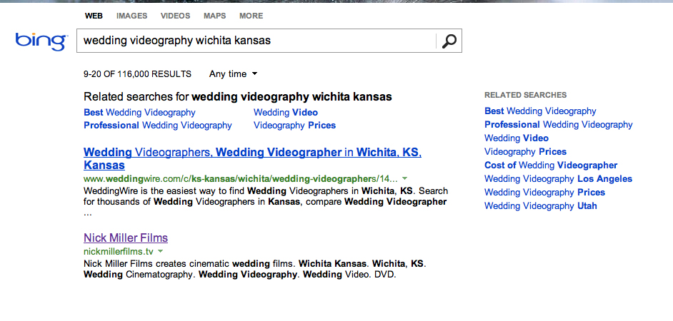 I've always been a Google user, but Bing had my site show up faster. Does that mean I win the Bing-it-On challenge?
