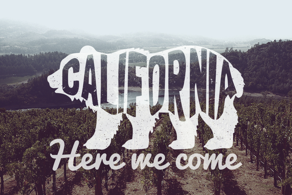 Image result for california here we come