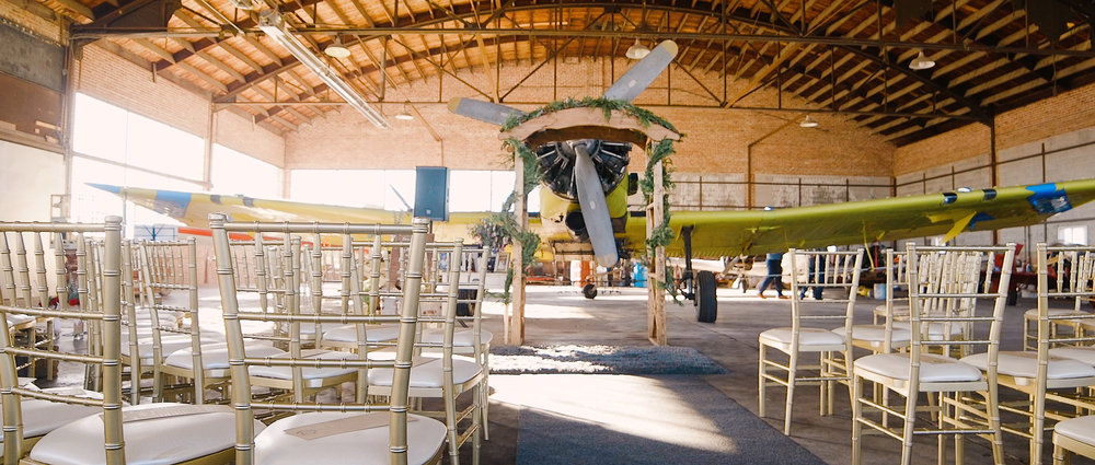 Airport-Hanger-Wedding-Video