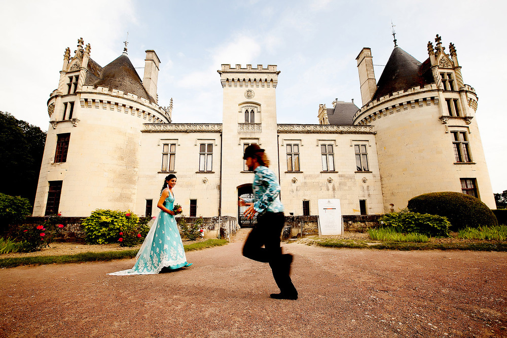 Chateau Breze, Loire Vally, France. Willie & Marion Wedding 2012