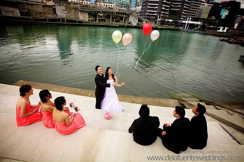 Chinese Wellington wedding photography
