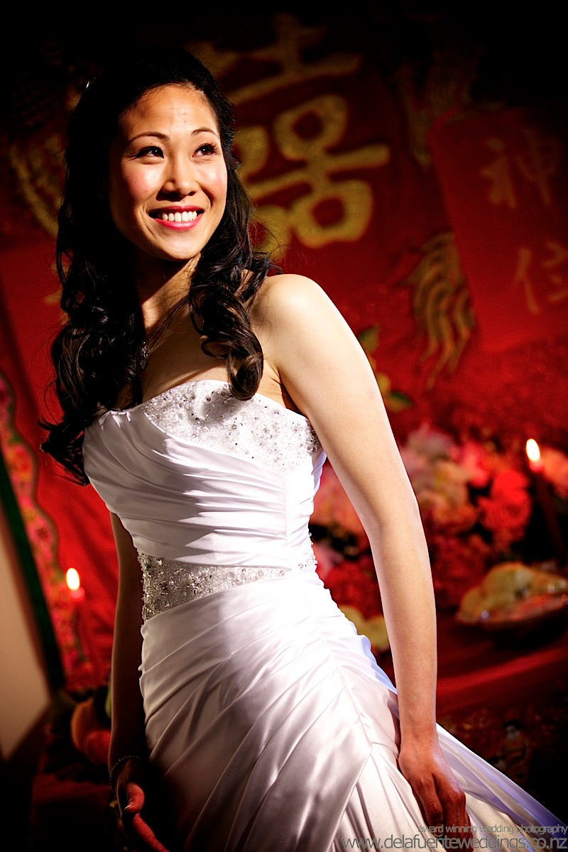 Sandy Lai wellington Chinese wedding, adrian de la fuente, photographer