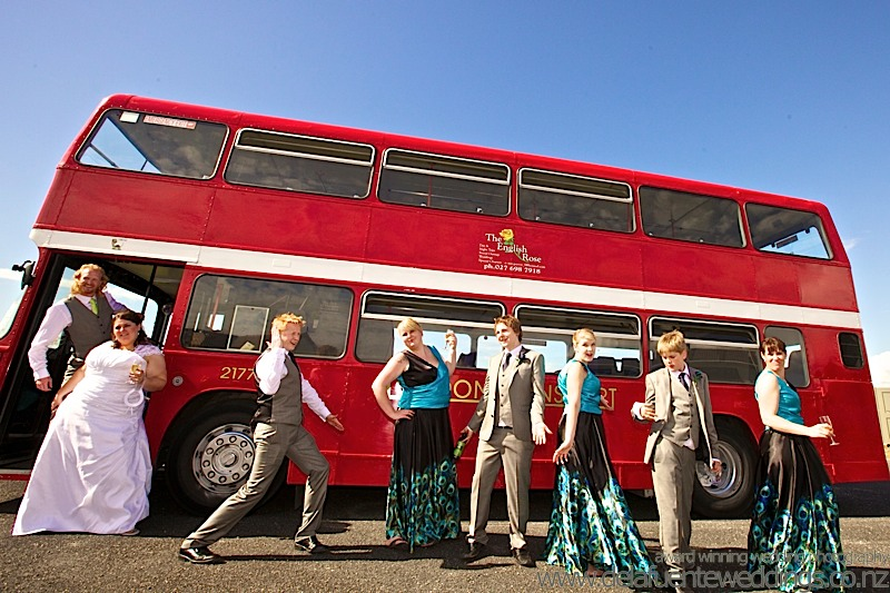 Kapti coast Wedding London Bus
