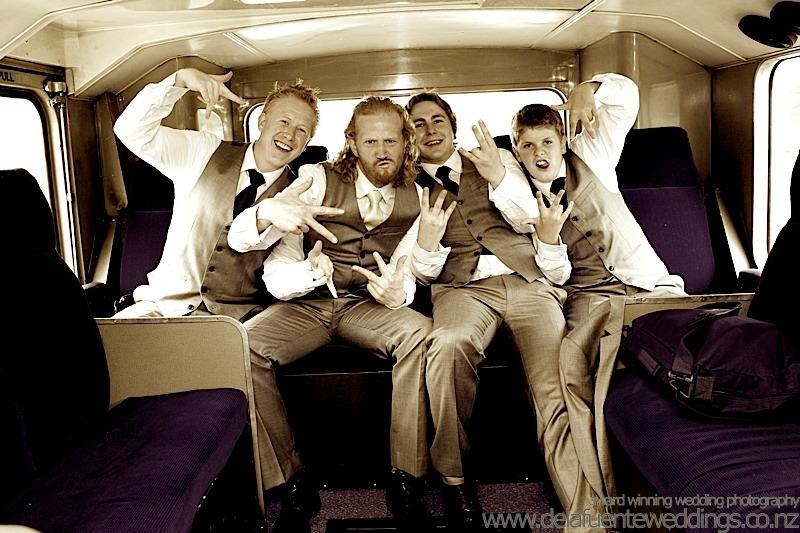 Wedding London Bus
