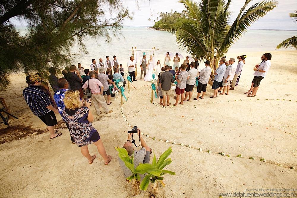 Rarotonga Wedding 2014