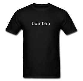 Men's -Buh Bah- T-Shirt in Black - The Jinxes MERCH.png