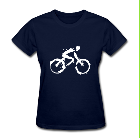 Women's -Migration- Bicycle T-Shirt - The Jinxes MERCH.png