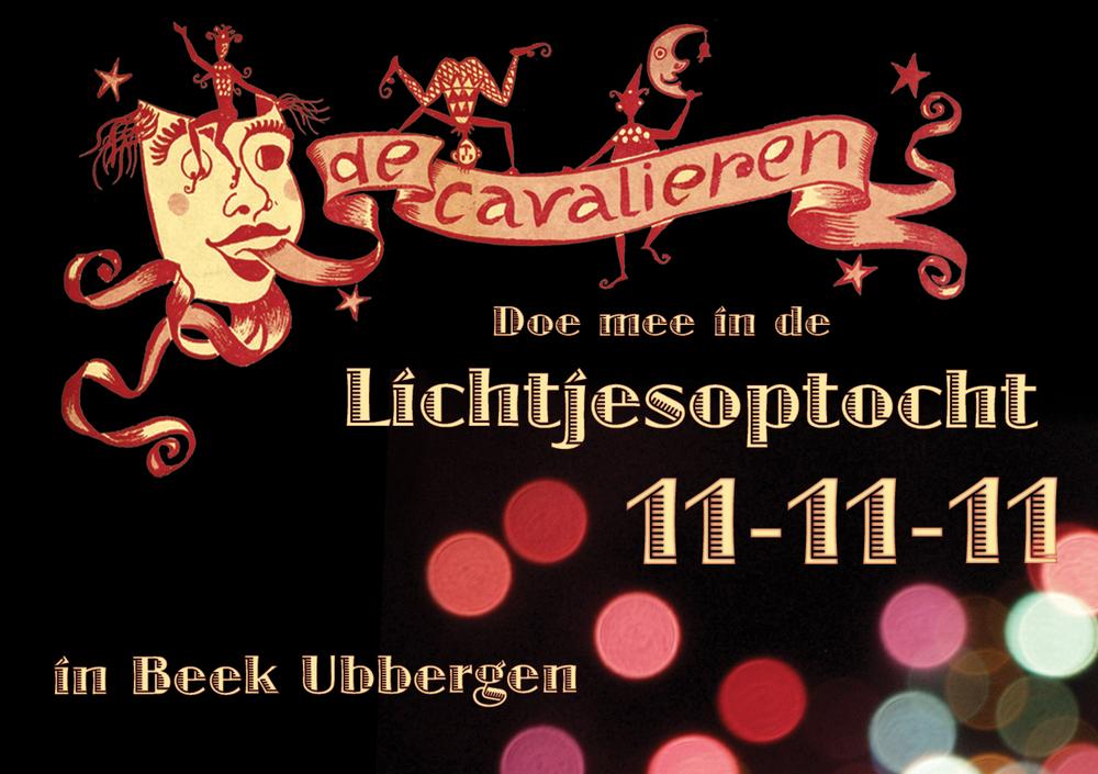 Lichtjesoptocht 11-11-11 in Beek Ubbergen