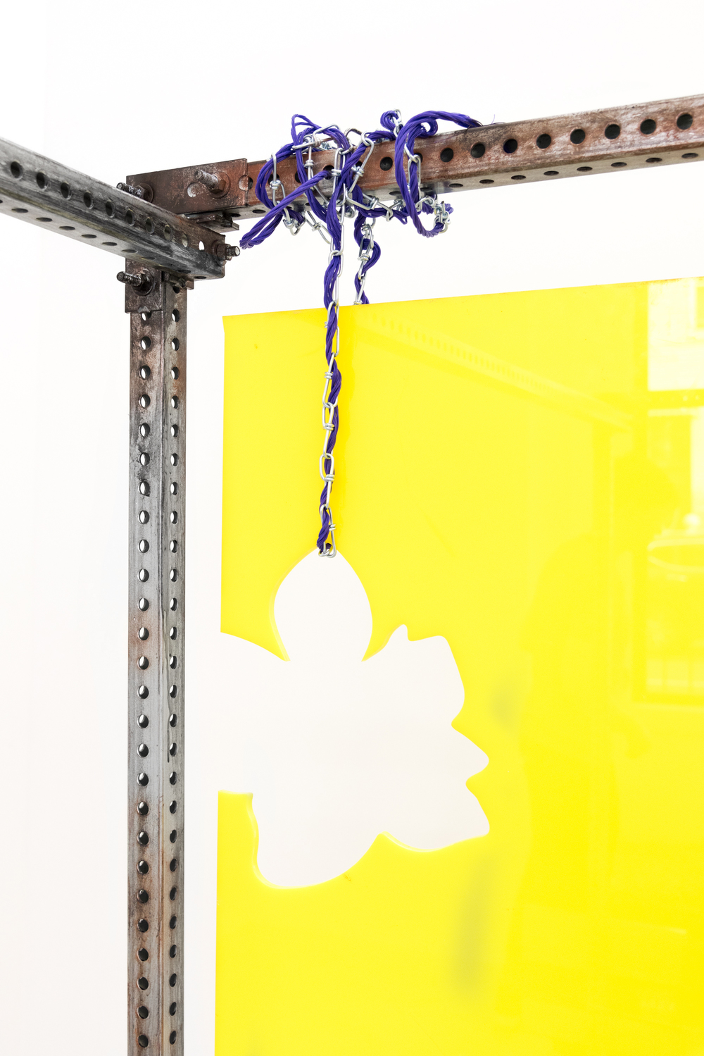 Installation shot from Dusty Contessa Finds a Homestead @Kimberly Klark