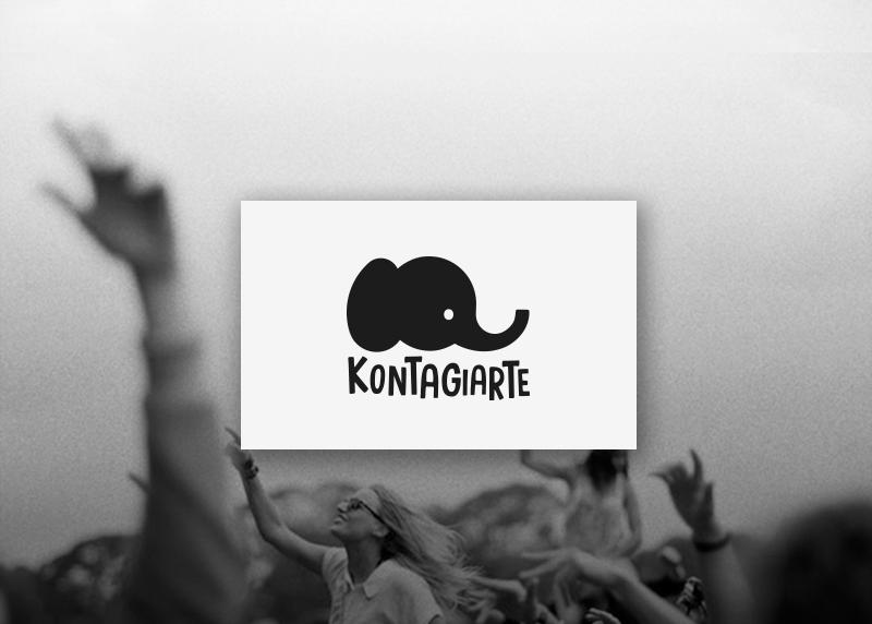 Logo para el blog musical Kontagiarte.com