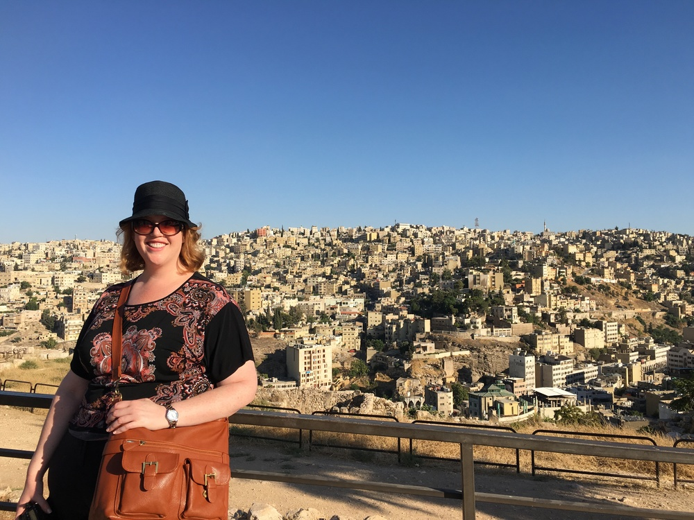 View of Amman from the historic Citadel
