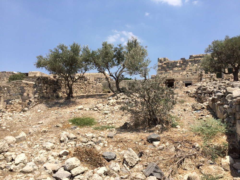 Ruins at Umm Qais